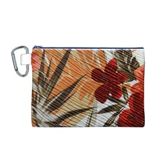Fall Colors Canvas Cosmetic Bag (M)