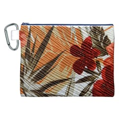 Fall Colors Canvas Cosmetic Bag (XXL)