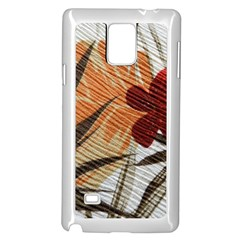 Fall Colors Samsung Galaxy Note 4 Case (white)