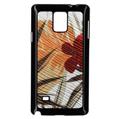 Fall Colors Samsung Galaxy Note 4 Case (black)