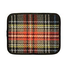 Fabric Texture Tartan Color Netbook Case (Small)