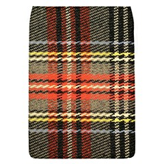 Fabric Texture Tartan Color Flap Covers (S)