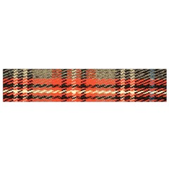 Fabric Texture Tartan Color Flano Scarf (small)