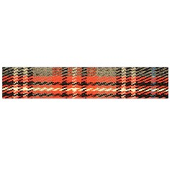 Fabric Texture Tartan Color Flano Scarf (large)