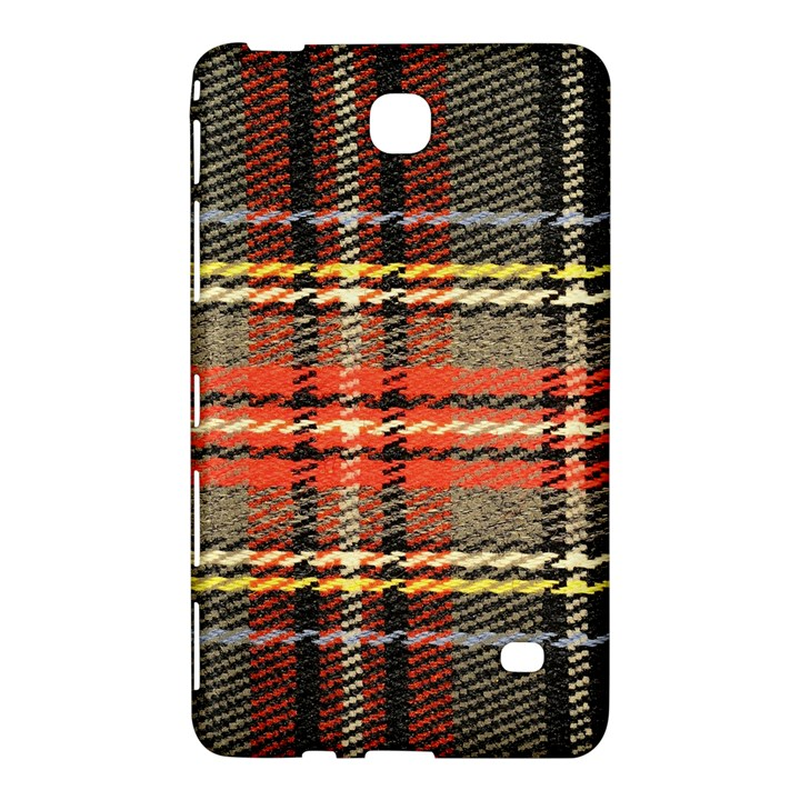 Fabric Texture Tartan Color Samsung Galaxy Tab 4 (7 ) Hardshell Case