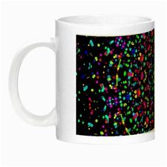 Fractal Texture Night Luminous Mugs