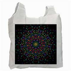 Fractal Texture Recycle Bag (Two Side)