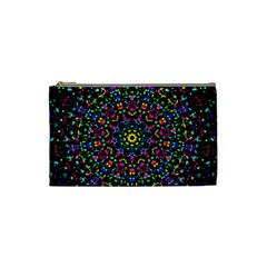 Fractal Texture Cosmetic Bag (Small)