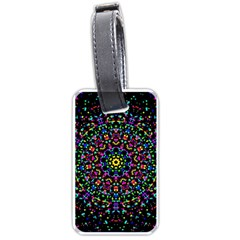 Fractal Texture Luggage Tags (Two Sides)