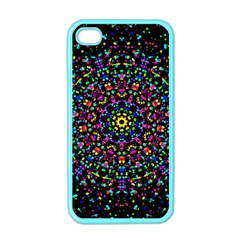 Fractal Texture Apple iPhone 4 Case (Color)