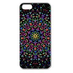 Fractal Texture Apple Seamless Iphone 5 Case (clear)