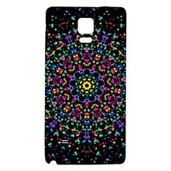 Fractal Texture Galaxy Note 4 Back Case