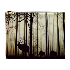 Forest Fog Hirsch Wild Boars Cosmetic Bag (XL)