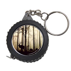 Forest Fog Hirsch Wild Boars Measuring Tapes