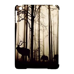 Forest Fog Hirsch Wild Boars Apple iPad Mini Hardshell Case (Compatible with Smart Cover)