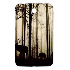Forest Fog Hirsch Wild Boars Samsung Galaxy Tab 3 (7 ) P3200 Hardshell Case