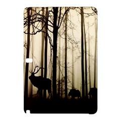 Forest Fog Hirsch Wild Boars Samsung Galaxy Tab Pro 12 2 Hardshell Case