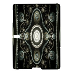 Fractal Beige Blue Abstract Samsung Galaxy Tab S (10 5 ) Hardshell Case
