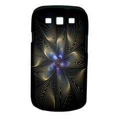 Fractal Blue Abstract Fractal Art Samsung Galaxy S III Classic Hardshell Case (PC+Silicone)