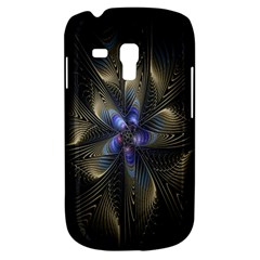 Fractal Blue Abstract Fractal Art Galaxy S3 Mini