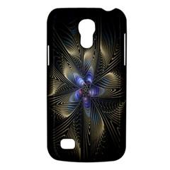 Fractal Blue Abstract Fractal Art Galaxy S4 Mini