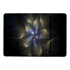 Fractal Blue Abstract Fractal Art Samsung Galaxy Tab Pro 10.1  Flip Case