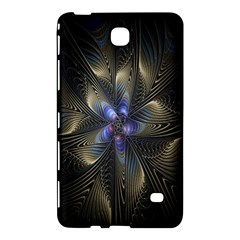 Fractal Blue Abstract Fractal Art Samsung Galaxy Tab 4 (8 ) Hardshell Case