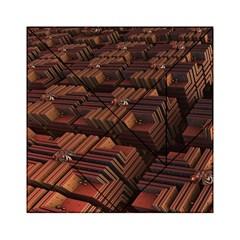 Fractal 3d Render Futuristic Acrylic Tangram Puzzle (6  x 6 )