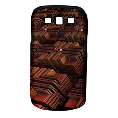 Fractal 3d Render Futuristic Samsung Galaxy S Iii Classic Hardshell Case (pc+silicone)