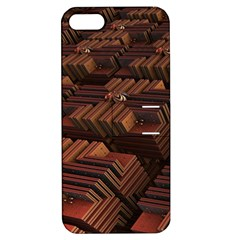 Fractal 3d Render Futuristic Apple Iphone 5 Hardshell Case With Stand