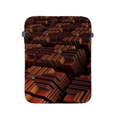 Fractal 3d Render Futuristic Apple Ipad 2/3/4 Protective Soft Cases