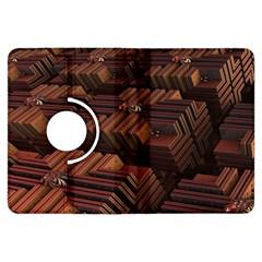 Fractal 3d Render Futuristic Kindle Fire Hdx Flip 360 Case