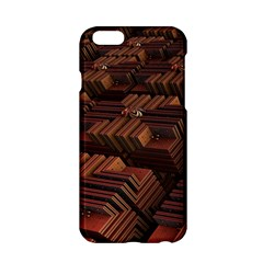 Fractal 3d Render Futuristic Apple iPhone 6/6S Hardshell Case