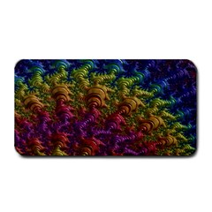 Fractal Art Design Colorful Medium Bar Mats