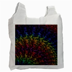 Fractal Art Design Colorful Recycle Bag (Two Side)