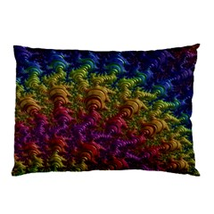 Fractal Art Design Colorful Pillow Case (two Sides)