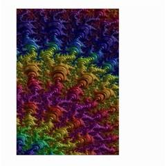 Fractal Art Design Colorful Large Garden Flag (two Sides)