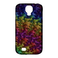 Fractal Art Design Colorful Samsung Galaxy S4 Classic Hardshell Case (pc+silicone)