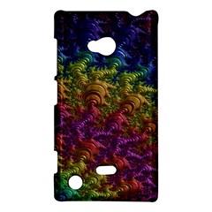 Fractal Art Design Colorful Nokia Lumia 720
