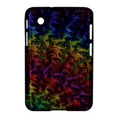 Fractal Art Design Colorful Samsung Galaxy Tab 2 (7 ) P3100 Hardshell Case