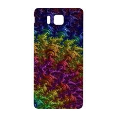 Fractal Art Design Colorful Samsung Galaxy Alpha Hardshell Back Case