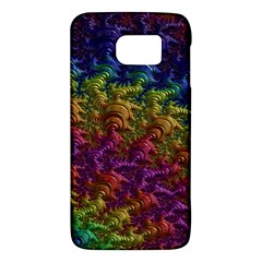 Fractal Art Design Colorful Galaxy S6