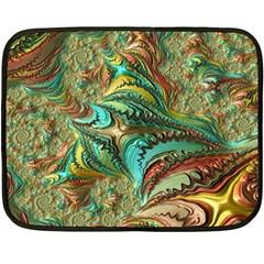 Fractal Artwork Pattern Digital Double Sided Fleece Blanket (Mini)