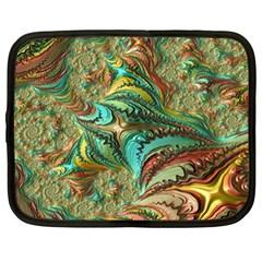Fractal Artwork Pattern Digital Netbook Case (XL)