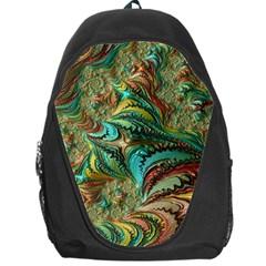 Fractal Artwork Pattern Digital Backpack Bag