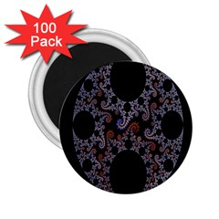 Fractal Complexity Geometric 2.25  Magnets (100 pack)