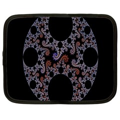 Fractal Complexity Geometric Netbook Case (Large)