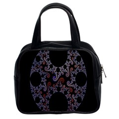 Fractal Complexity Geometric Classic Handbags (2 Sides)