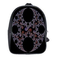 Fractal Complexity Geometric School Bags(Large)
