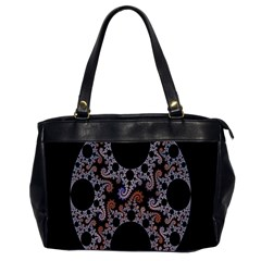Fractal Complexity Geometric Office Handbags (2 Sides)